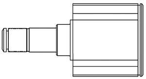 Комплект ШРУСов GSP 617020