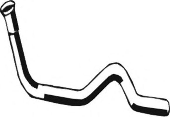 Труба выхлопного газа ASMET 03.023