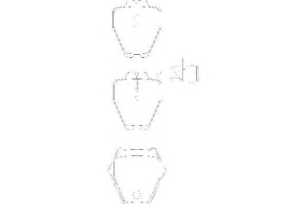 Тормозные колодки WAGNER WBP23119A