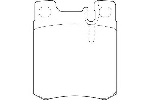 Тормозные колодки WAGNER WBP21305A
