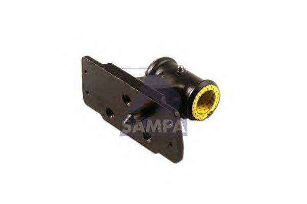Шарнирный кронштейн, стойка амортизатора (кабина водителя) SAMPA 080.109