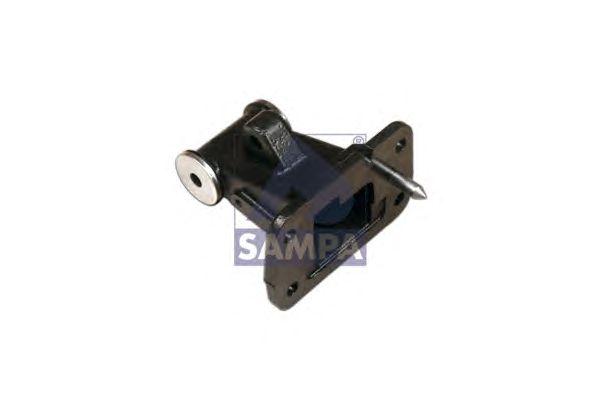 Шарнирный кронштейн, стойка амортизатора (кабина водителя) SAMPA 080.178