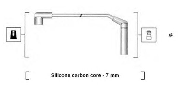 Комплект высоковольтных проводов MAGNETI MARELLI 941285120871