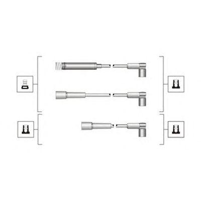 Комплект высоковольтных проводов MAGNETI MARELLI 941319170072