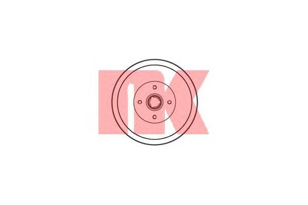 Тормозной барабан NK 254719