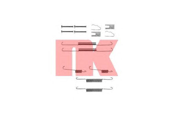 Монтажный комплект тормозных колодок NK 7915645