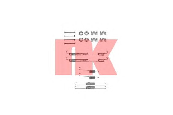 Монтажный комплект тормозных колодок NK 7919753