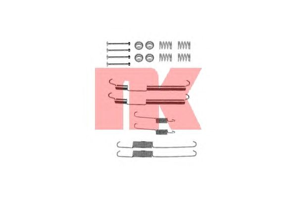 Монтажный комплект тормозных колодок NK 7939755
