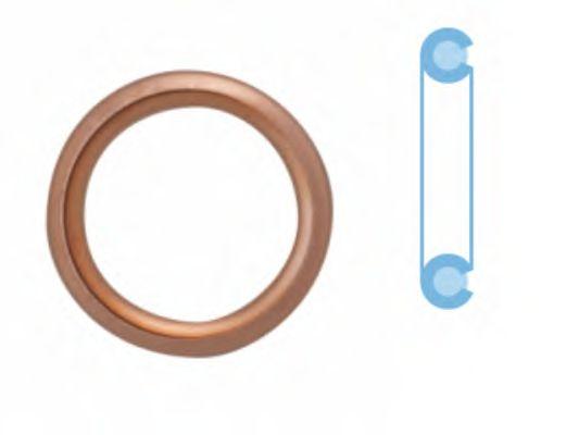 Прокладка сливной пробки CORTECO 407711H