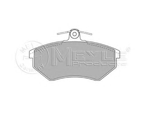 Тормозные колодки MEYLE 025 201 6816