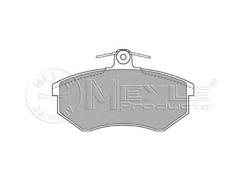 Тормозные колодки MEYLE 025 206 6919