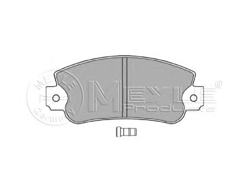 Тормозные колодки MEYLE 025 209 5018/W