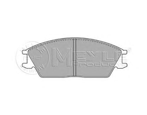 Тормозные колодки MEYLE 025 210 1214