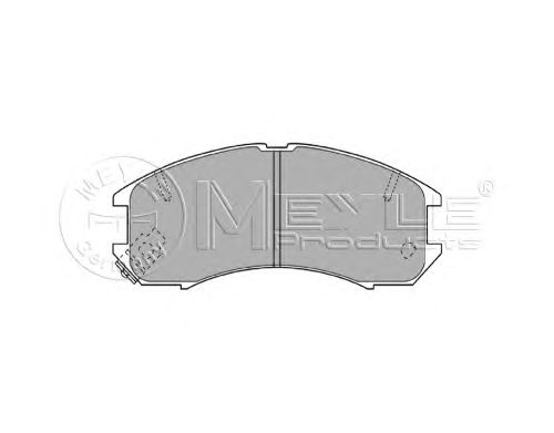 Тормозные колодки MEYLE 025 213 7815/W