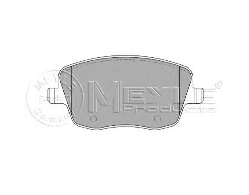 Тормозные колодки MEYLE 025 235 8118/W