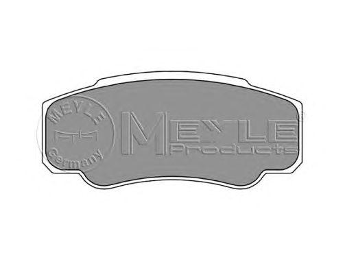 Тормозные колодки MEYLE 025 239 2120