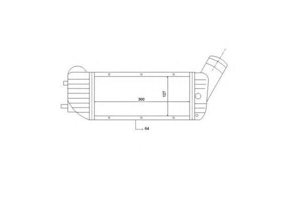 Интеркулер NRF 30894