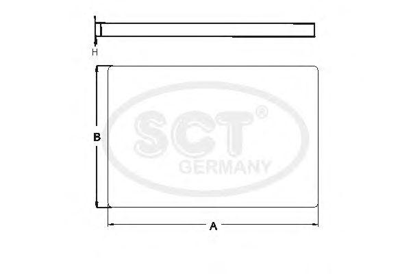 Фильтр салона SCT Germany SA 1215