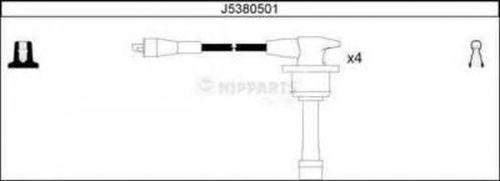 Комплект высоковольтных проводов NIPPARTS J5380501