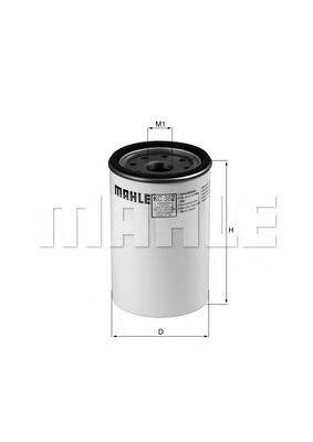 Топливный фильтр MAHLE ORIGINAL KC 362D