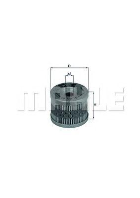 Масляный фильтр MAHLE ORIGINAL OX 119