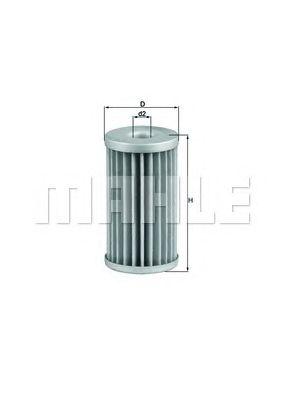 Топливный фильтр MAHLE ORIGINAL KX 39