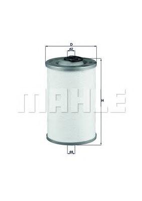 Топливный фильтр MAHLE ORIGINAL KX 44D