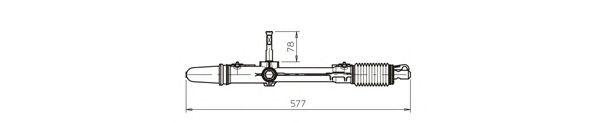 Рулевой механизм GENERAL RICAMBI CI4041