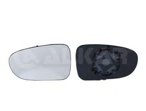 Стекло зеркала заднего вида ALKAR 6401130