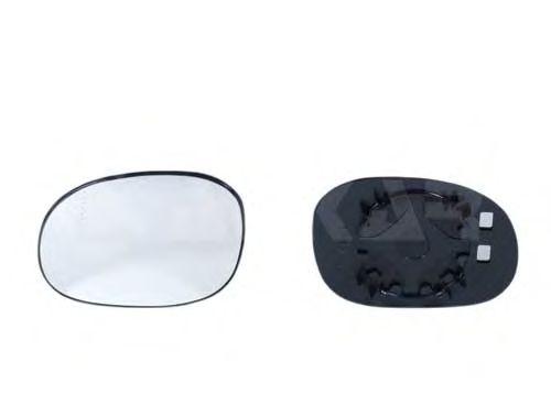 Стекло зеркала заднего вида ALKAR 6401283