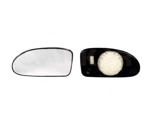 Стекло зеркала заднего вида ALKAR 6411399
