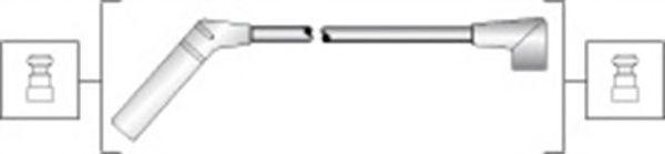Комплект высоковольтных проводов MAGNETI MARELLI 941318111291