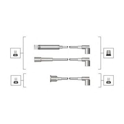 Комплект высоковольтных проводов MAGNETI MARELLI 941319170009