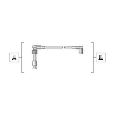 Комплект высоковольтных проводов MAGNETI MARELLI 941319170014