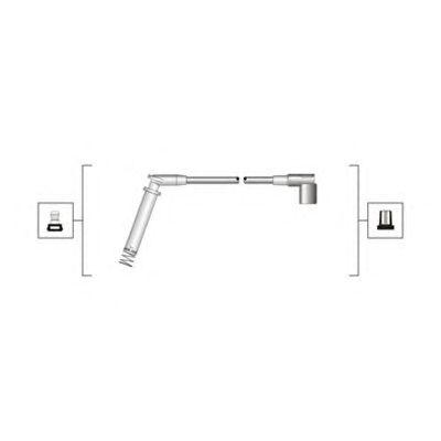 Комплект высоковольтных проводов MAGNETI MARELLI 941319170018