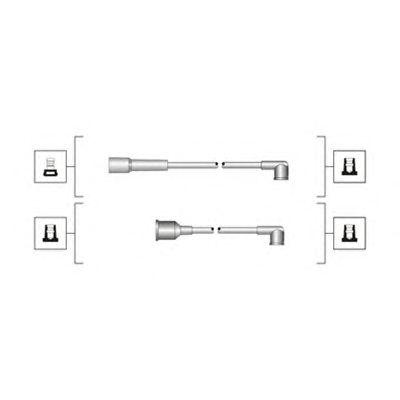 Комплект высоковольтных проводов MAGNETI MARELLI 941319170022