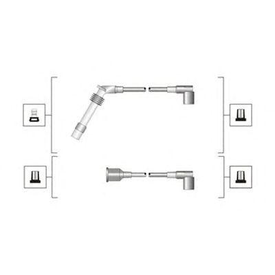 Комплект высоковольтных проводов MAGNETI MARELLI 941319170027