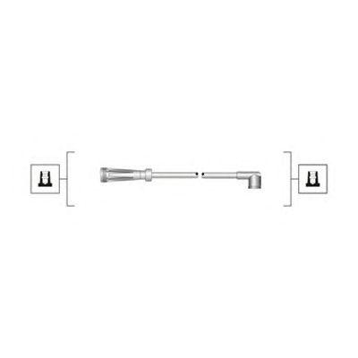 Комплект высоковольтных проводов MAGNETI MARELLI 941319170041