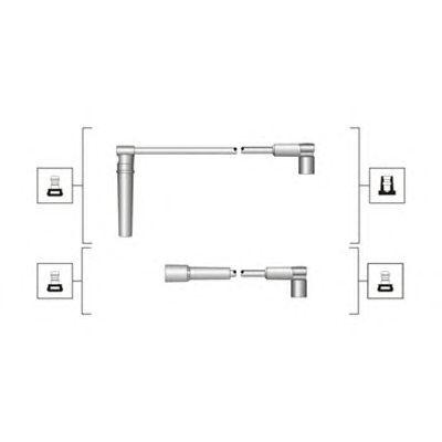 Комплект высоковольтных проводов MAGNETI MARELLI 941319170044