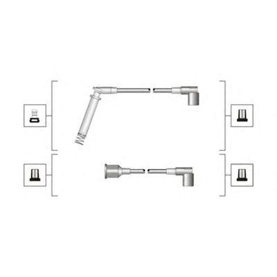 Комплект высоковольтных проводов MAGNETI MARELLI 941319170045