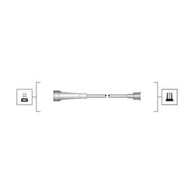 Комплект высоковольтных проводов MAGNETI MARELLI 941319170057