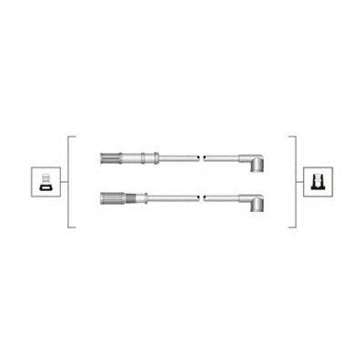 Комплект высоковольтных проводов MAGNETI MARELLI 941319170068