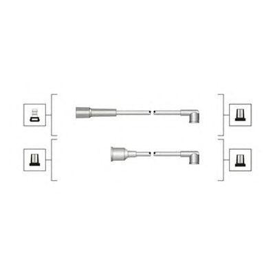 Комплект высоковольтных проводов MAGNETI MARELLI 941319170077