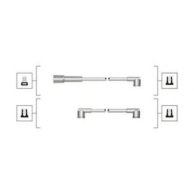 Комплект высоковольтных проводов MAGNETI MARELLI 941319170088