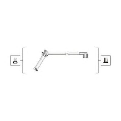 Комплект высоковольтных проводов MAGNETI MARELLI 941319170092