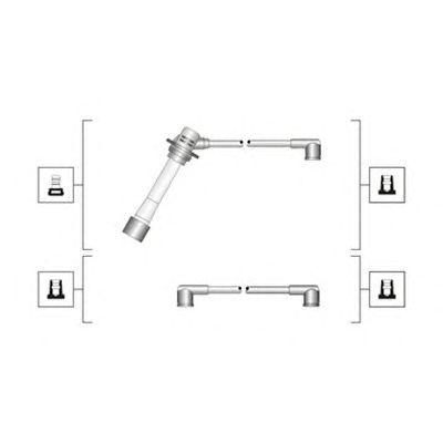 Комплект высоковольтных проводов MAGNETI MARELLI 941319170093
