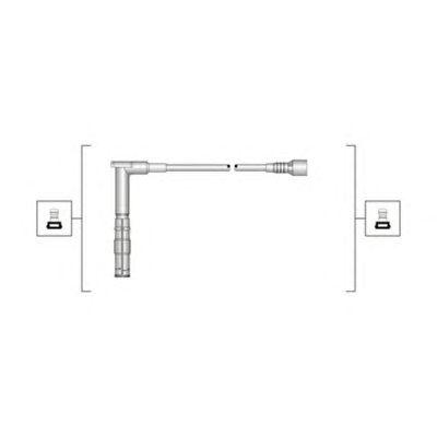 Комплект высоковольтных проводов MAGNETI MARELLI 941319170100