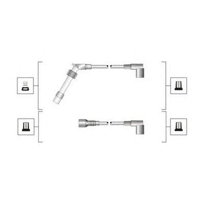 Комплект высоковольтных проводов MAGNETI MARELLI 941319170102
