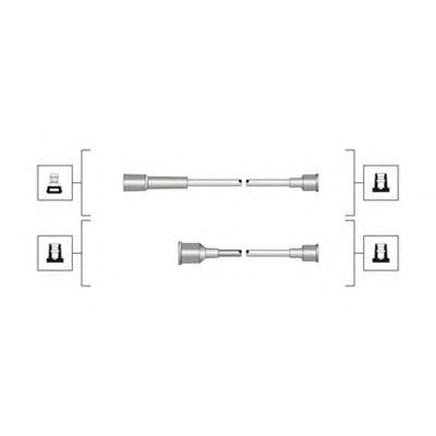 Комплект высоковольтных проводов MAGNETI MARELLI 941319170107