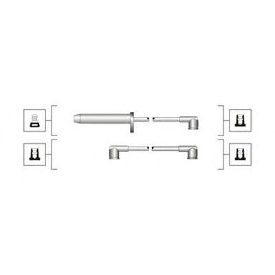 Комплект высоковольтных проводов MAGNETI MARELLI 941319170112